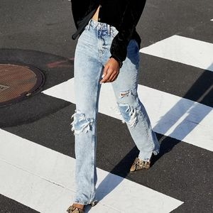 Free People NWT my own lane high rise jeans